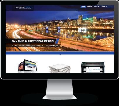 Triggervision Design – Offering Web & Graphic Design,Screen
