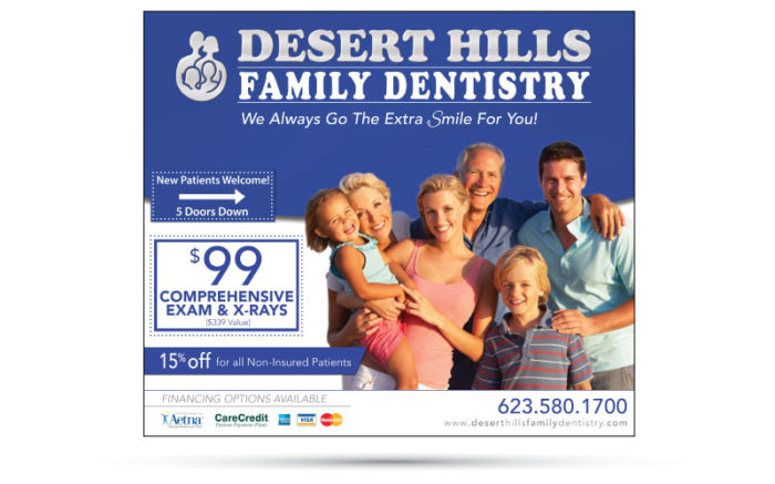 Desert Hills Dental Ad
